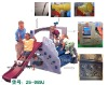 Playing Slide for Kindergarden 26-089J from Guangzhou Cowboy Toys