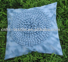 hand-made embroidered cushion cover