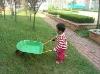 kid's sand toy wheelbarrows