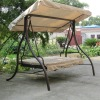 outdoor garden swing