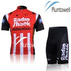 Radioshack Red Coolmax, Quick-dry and breathable bike wear