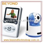 "4 Channel 2.4ghz Wireless Baby Monitor with 2.4"" LCD Receiver Rechargeable Battery"