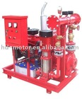 The newest of DJ fire fighting pump system