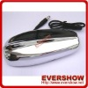 Universal Chrome car shark fin antenna