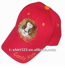 Cotton baseball cap with custom logo for children