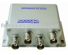 UTP Video Balun, active video balun, cctv balun, 4 channel Passive PoE UTP PVD/PVA Transmission