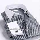 2013 new men's brand striped dress shirts with long sleeves