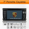 2Din 7inch HD Car DVD Video with Bluetooth for Porsche Cayenne2003-2010