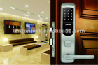 LT-6000PW touch screen password door lock with remote control