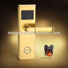 Economic hotel IC card lock
