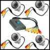 Video System 4 IR Camera USB DVR M52