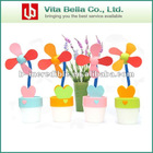 Creative USB Flower Pot Lights Fan Promotional Gift
