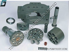 EX400 A7VO250 cylinder block, EX400LC A7VO250 valve plate, A7VO250 piston shoe, A7VO250 set retainer plate JEIL