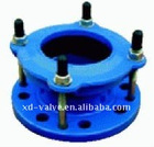 flange adaptor with range adjustment