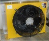 Hot sales air cooled oil cooler, with built-in fan & plate-pin heat exchanger, oil cooler