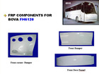 FRP Components for Bus