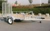 Mesh floor ATV trailer
