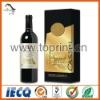 Elegant strong wine adhesive sticker printing