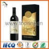 Elegant strong wine adhesive sticker printing