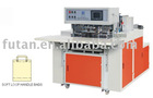 Nonwoven soft loop handle bag making machine