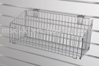 Wire Basket,Slatwall Display shelf