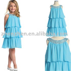 2010 Fashion flower girl's dress f-11