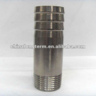 galvanized and black insert adapter with bs threads