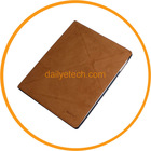 For iPad3 Foldable PU Leather Case Stand Function Brown from dailyetech