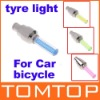 Bicycle Car Valve Caps Light Tyre Wheel Neon LED Lamp