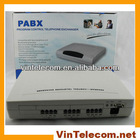 China pbx factory VinTelecom CP832 PABX with 8lines & 32phone exts phone system