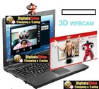 2d+3d webcam 3D pc camera with free 3D glasses 3d camera