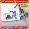 "Digital Door Viewer, Household Viewer, 2.8"" touch LCD, Easy change batteries without remove from door"