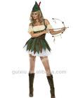 Sexy Feisty Outlaw Robin Hood Halloween Costume