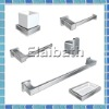 Bathroom accessories set-robe hook,tumbler holder,paper holder,towel ring,soap dish,towel bar