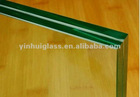 durable and fadeless 6.38mm laminated glass