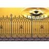 metal modern gate fence according to your demand