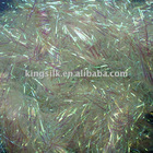 dongyang polyester metallic m type yarn use at lace ribbon embroidery machine