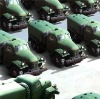 High simulation / inflatable military vehicles