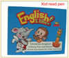 child reading talk pen with sound 6 English books