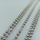 Fashion metal 4.5mm beaded ball chain