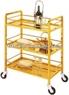 metal liquor trolley