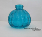 glass oil lamp bottle simple design different design colorfull