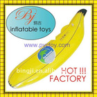 Factory sale at very good cost Plastic pvc inflatable air banana for promotions and advertising items with high quality&good