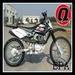 200cc dirt bike air -cooled QG-216