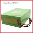 36V Lifepo4 ebike battery