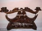 mahogany wood fish wooden carving craft