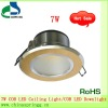 Hot sale High Cup series 7W COB LED Ceiling Light/COB LED Downlight with CE&RoHS