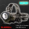 rechargeable CREE 3W LED headlamp