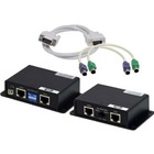 Keyboard, Mouse PS/2 & VGA Extender Balun: 2 x Cat5 up to 300' at up to 1280x1024