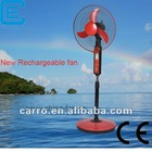 Durable battery and stable quality rechargeable cooling fan with LED light
